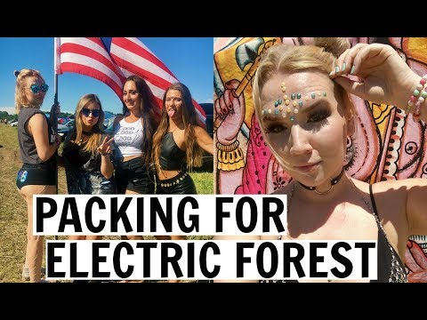 PACKING FOR ELECTRIC FOREST 2018 | FESTIVAL PACKING LIFE HACKS! Mp3