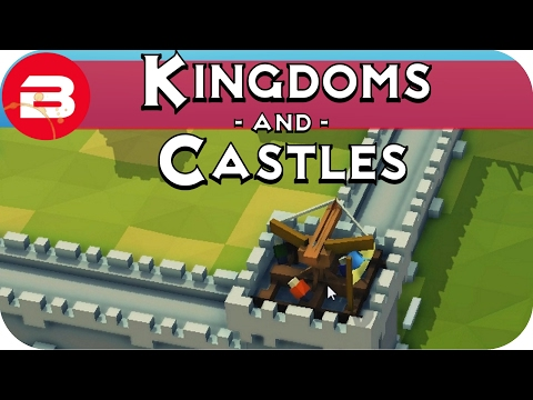 Kingdoms and Castles Gameplay: BALLISTAS #4 - Lets Play Kingdoms & Castle Alpha City Building