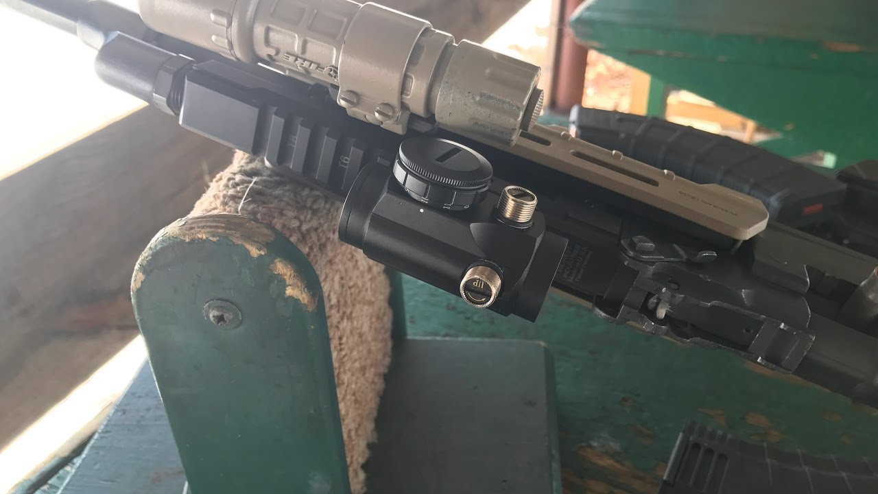 MAK-91: Midwest Industries Gas Tube/ Primary Arms RBGII Red Dot