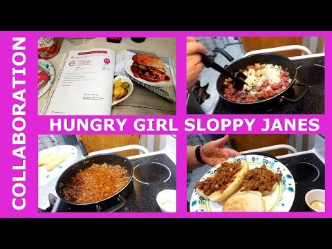 Hungry Girl Collab | Lunch | Sloppy Janes | 6 Smart Points| WW| Weight Watchers