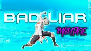[4K] BAD LIAR | PUBG Mobile Competitive Montage | iPhone XR 2 Finger + Gyro | Skeleton Gaming