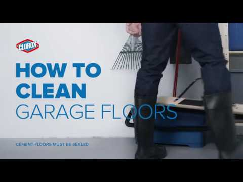Clorox® How To : Clean Garage Floors (with Clorox® Outdoor Bleach)
