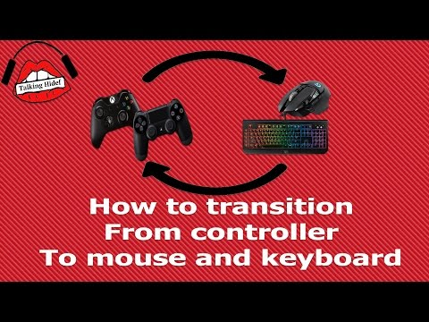 How to Transition From Controller To Mouse and Keyboard