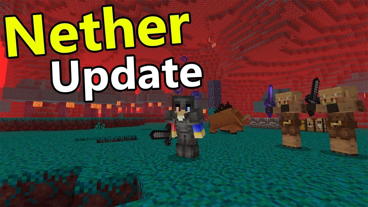 Nether Update is HERE !!! - Minecraft PE Nether Update Concept Addon