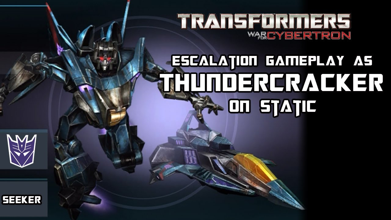 Transformers Fall Of Cybertron Wallpaper Transformers War For Cybertron Thundercracker On Static