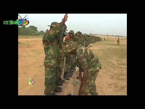 REVEALED! Most Deadly Nigerian Army Training [Nigerian Army Trained To Shoot].