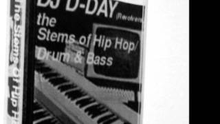 Dday One - The Stems of Hip Hop, Instrumental hip hop, drum and bass mixtape,free music dowload