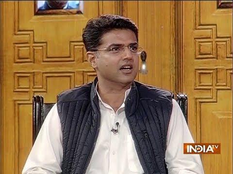 Chunav Manch: Congress leader Sachin Pilot rubbishes data presented by BJP