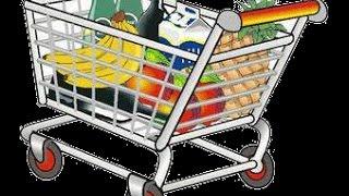Цены на продукты питания в Германии/ Какие продукты можно купить на 52 евро в Германии(, 2014-11-09T21:14:13.000Z)