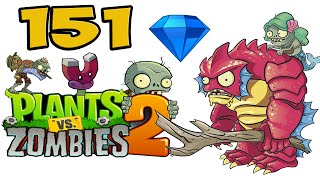ч.151 Plants vs. Zombies 2 - Big Wave Beach - Day 13