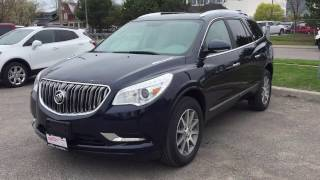 2017 Buick Enclave FWD 7 Passanger Seating Blue Oshawa ON Stock #171069