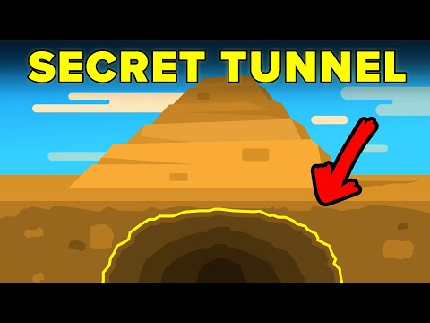 Secret Tunnel Discovered Under Ancient Pyramid