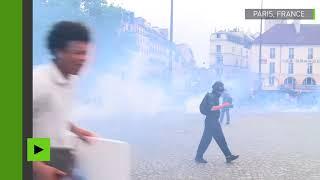 Manifestation à Paris: une quarantaine d'arrestations en marge du défilé