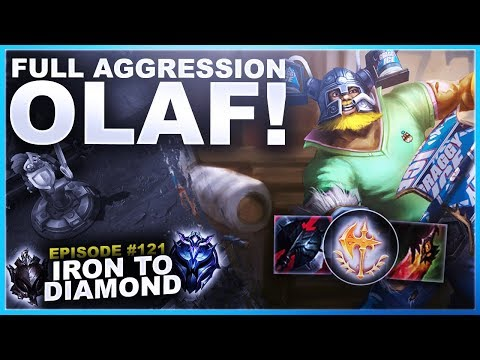 AGGRESSION OLAF TOP - Iron to Diamond  League of Legends