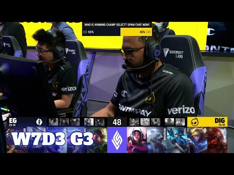 Download Evil Geniuses vs Dignitas | Week 7 Day 3 S11 LCS Summer 2021 | EG vs DIG W7D3 Full Game