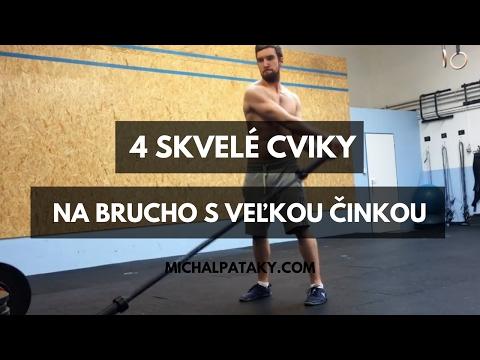 Cviky na brucho - 4 tipy na cviky s veľkou činkou, ktoré zaručene NEROBíŠ.
