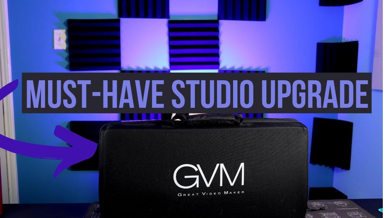 New Studio Addition: GVM RGB Lights! (GVM800D RGB Lights Review)