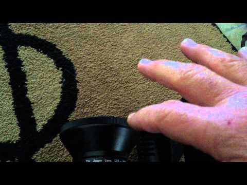 Demonstration of vintage RCA CC010 Color Video Camera