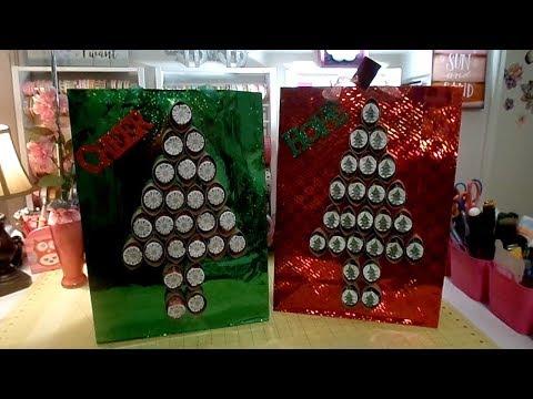 Dollar Tree DIY:  $1.25 Advent Calendar