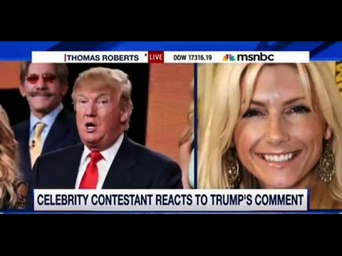 Donald Trumps On Her Knees Woman Brande Roderick Comes To His Defense