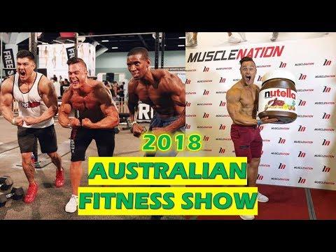 2018 Australian Fitness Show - Sydney VLOG