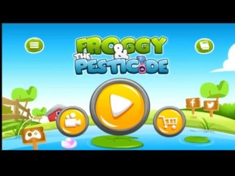 Play Froggy And The Pesticide Gameplay(Main Game Kodok & Sianida. Eeh,.. Pestisida)