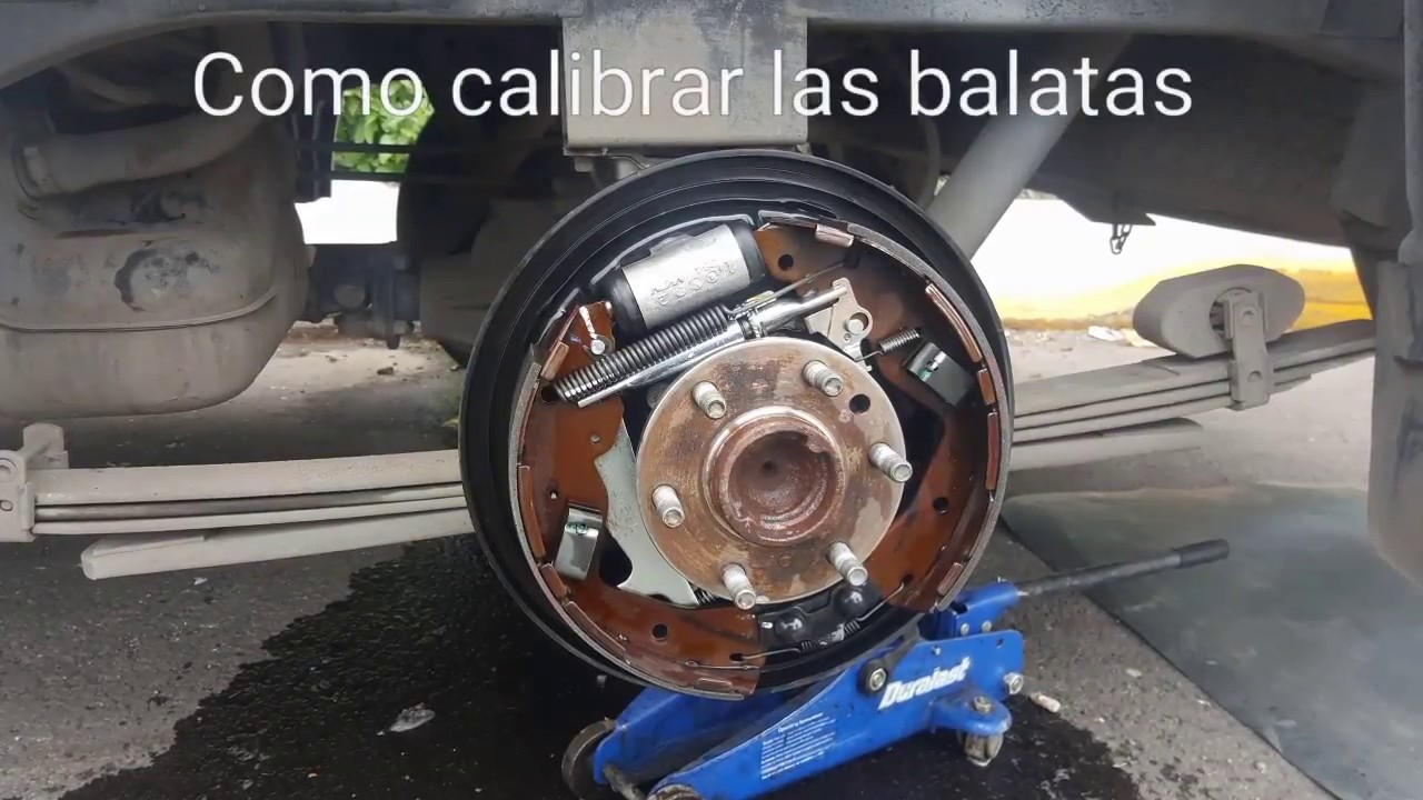 Como ajustar los Frenos | calibrar las balatas | Nissan ...