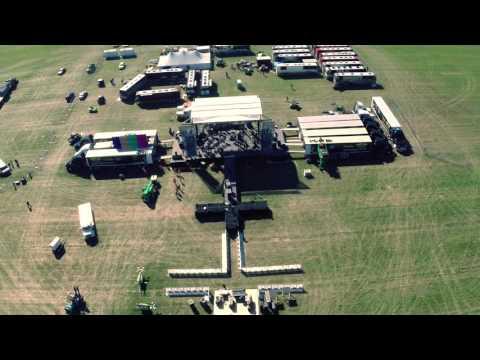 Advanced Media | Luke Bryan Farm Tour 2015 | Pre-show Aerial Footage