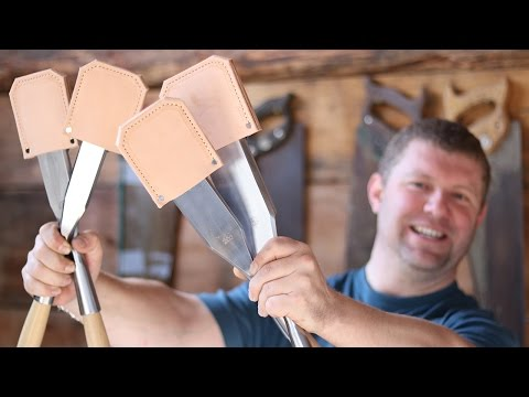 Unboxing $900 Timber Framing Chisels