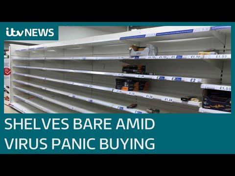 UK Retailers Urge Shoppers To 'be Considerate' Amid Coronavirus Panic Buying | ITV News