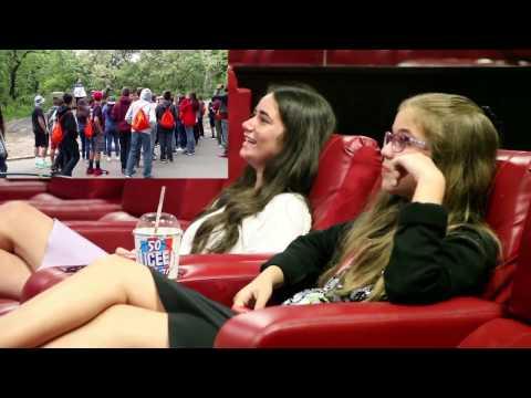 Hilarious Surprise Movie Proposal @AMC Movie Theater W/Reaction (Shot @Central Park)