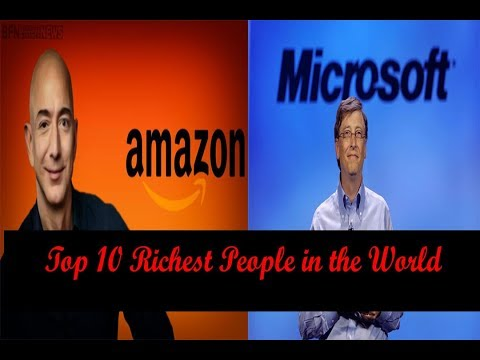 Top 10 Richest People in the World 2017 August Forbes List