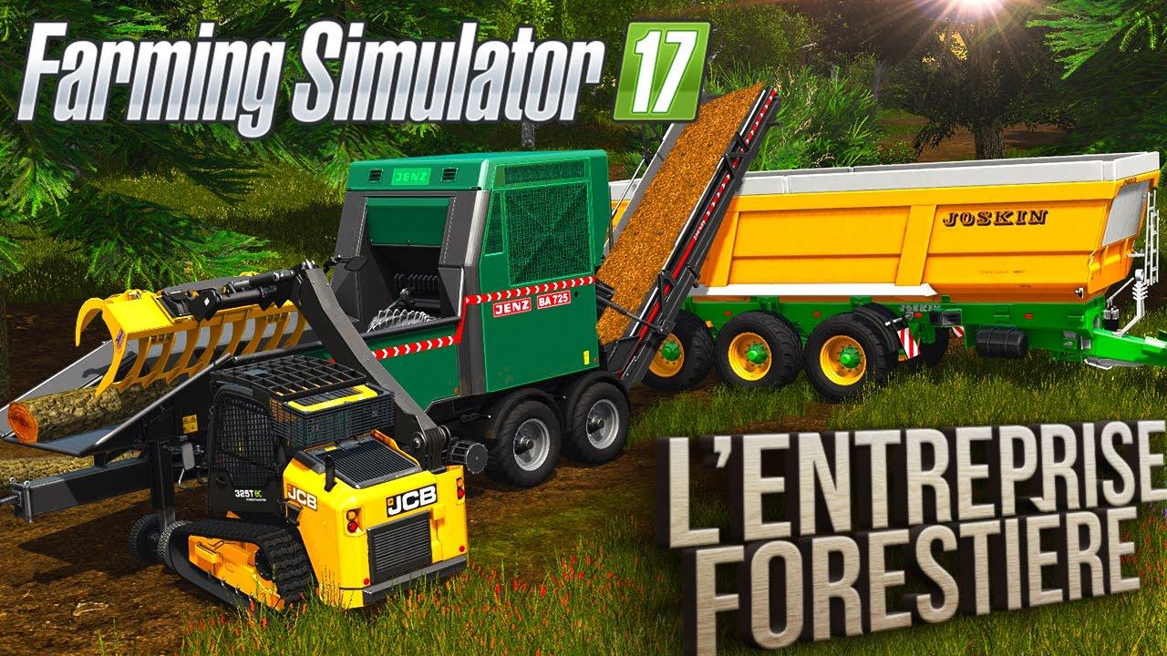 farming simulator 17 l 39 entreprise foresti re episode 2. Black Bedroom Furniture Sets. Home Design Ideas