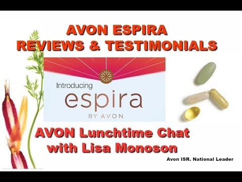Avon ESPIRA RESULTS  Team Lunch Chat with Lisa