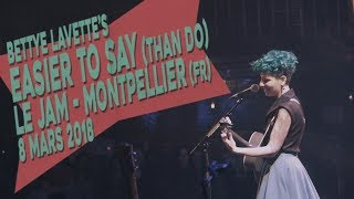 Acoustik Ladyland | Easier to Say (Bettye LaVette) | Le JAM - Montpellier