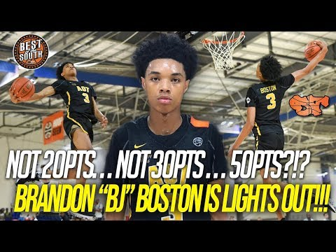 Brandon Boston DROPS 52pts at BEST OF THE SOUTH
