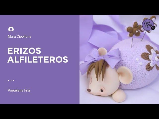 Expohobby TV (T04 - E55) Mara Cipollone - Porcelana fría