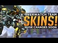 Overwatch: NEW D.Va & Team Skins! - World Cup Country Uniforms!