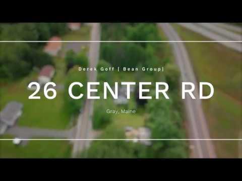 Home For Sale In Gray Maine 26 Center Road Derek Goff Bean