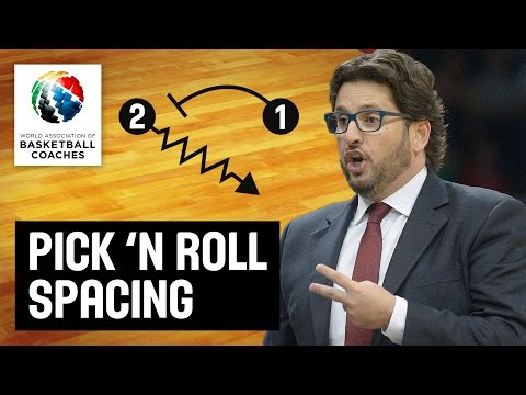 Pick 'n' Roll Spacing - Andrea Trinchieri - Basketball Fundamentals