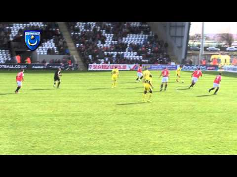 Conor Chaplin scores first professional goal for Pompey