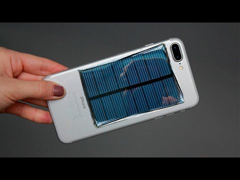 HOW TO MAKE A FREE ENERGY EMERGENCY MOBILE PHONE CHARGER – Solar Generator / Tutorials