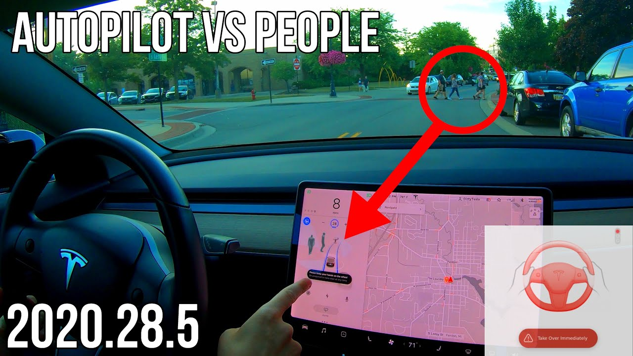 Tesla Software Update 2020.28.5 Lets You Break The Law! | Autopilot Testing | Full Self Driving