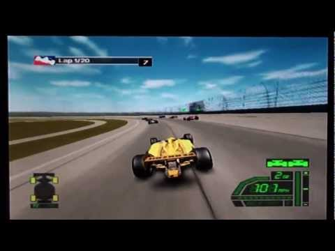 IndyCar Series (PS2) - Race 1/15 - Grand Prix of Miami