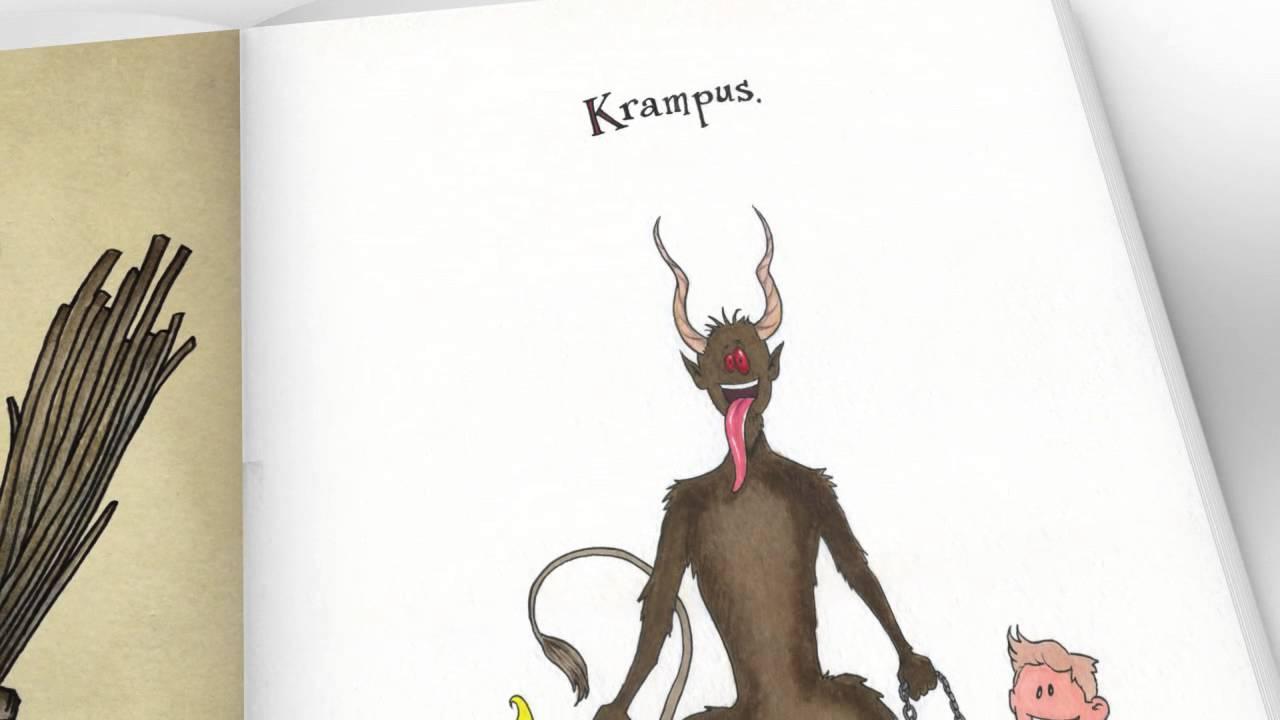 Contemporary Krampus Book Promo #1 - YouTube