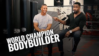 EXCLUSIVE: Michael Jai White Interviews World Champion Bodybuilder, Troy Alves