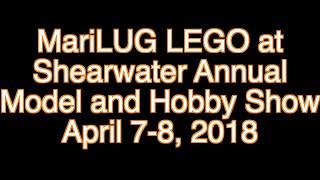 MariLUG LEGO Display At Shearwater Annual Hobby Show April 2018