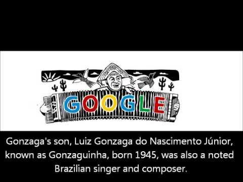 100° Aniversário de Luiz Gonzaga Google Doodle - 100th Birthday of Luiz Gonzaga