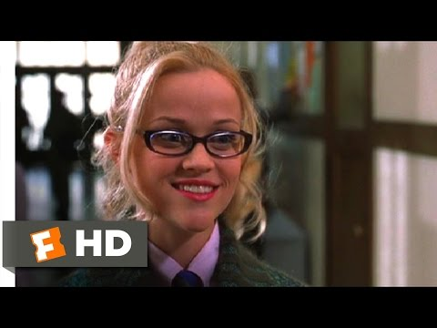 Legally Blonde (4/11) Movie CLIP - First Day Of School (2001) HD