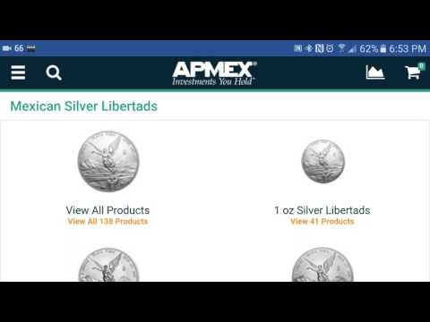 Mexico Libertad Silver Bullion Coins from APMEX